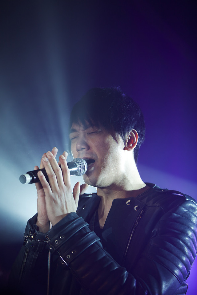 Taiwanese singer Shin performs at MIDEM 2014