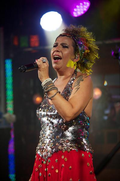 Brazilian singer Rita Beneditto performs at MIDEM 2014