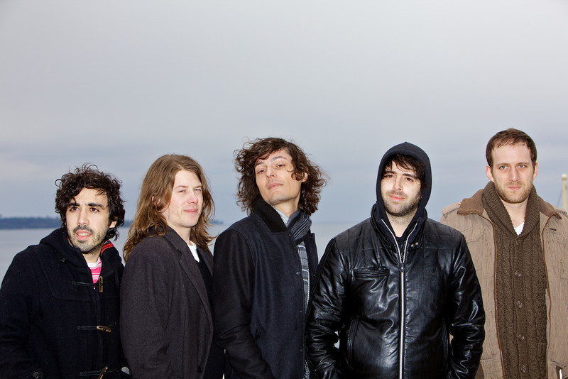French band Stuck in the Sound - MIDEM 2012 photocall
