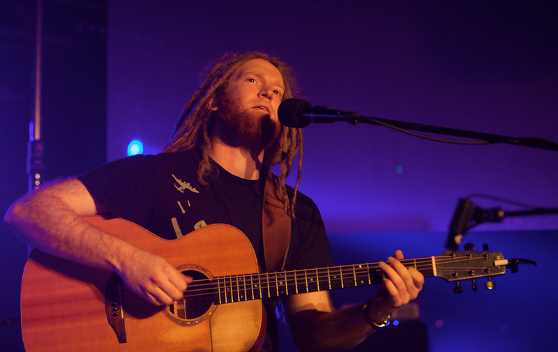Newton Faulkner plays at MIDEM on 1/25/10