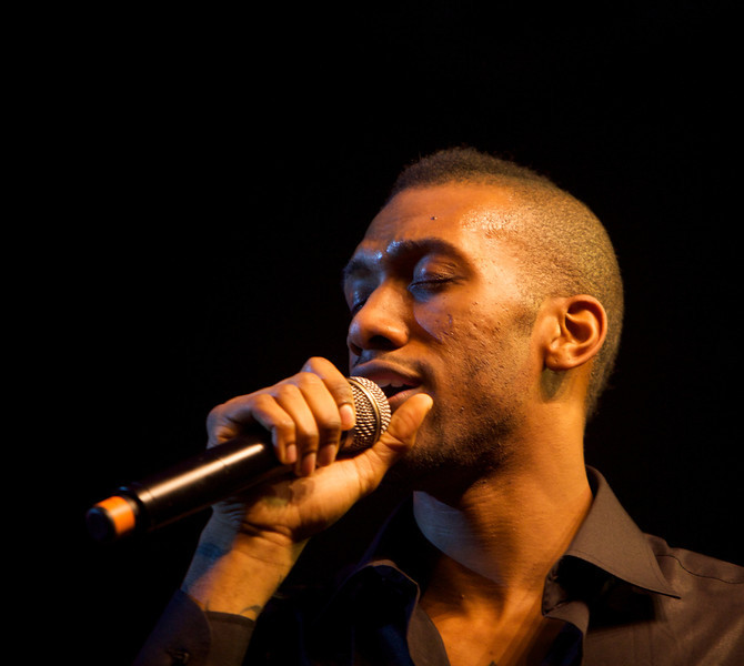 Wayne Beckford performs at MIDEM on 1/24/10