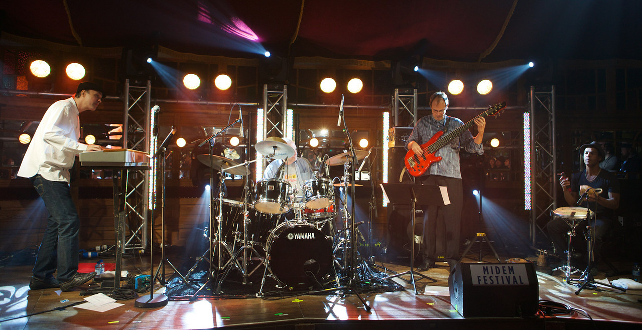 Claudio Dauelsberg Trio performs at MIDEM 2014