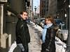 Robert & Andrea in Old Montreal