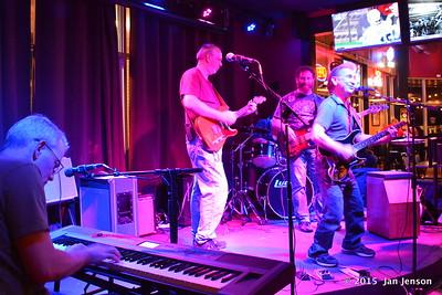 Scott McFarlane, Ron Sheehan, Eric & Ken Dudzik @ Moochies Jam, Mint Hill, NC  11-10-15