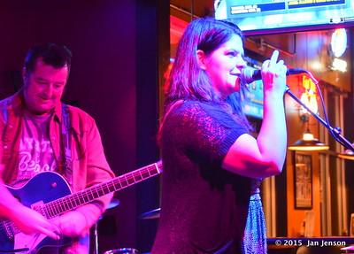 Jem Crossland & SHannon Lee @ Moochies Jam, Mint Hill, NC  11-10-15