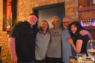 Joe Delapina, David Vandenburg, Jan Jenson, Randy Hargett, Ellen @ Moochies in Mint Hill, NC  5-11-17