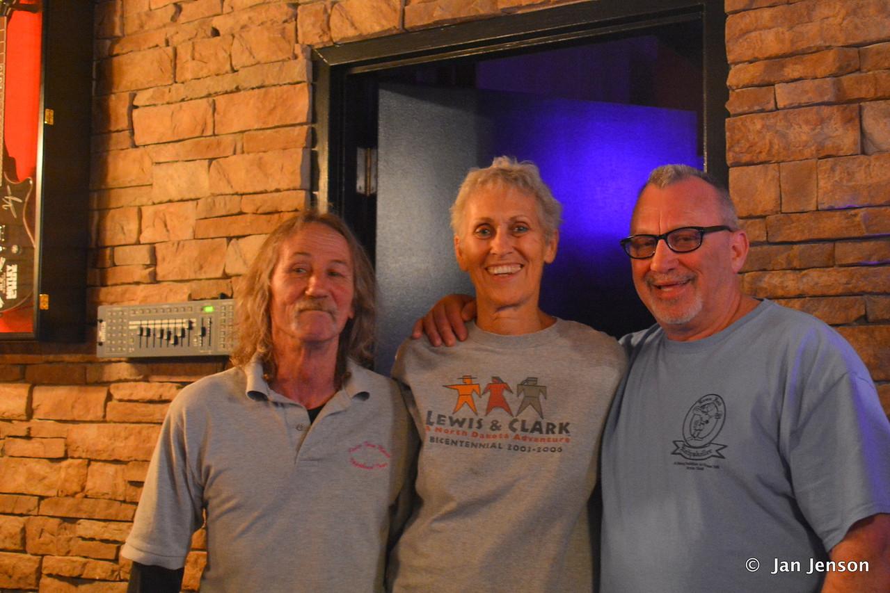 David Vandenburg, Jan Jenson & Randy Hargett @ Moochies in Mint Hill, NC  5-11-17