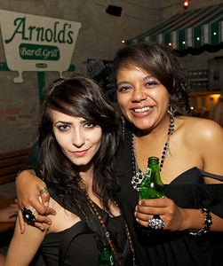 Ashleigh Werner and Amie Alvarado of Clifton at Arnold's for MPMF.10