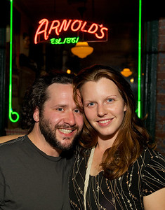 Chris and Hayley Guthrie of OTR at Arnold's for MPMF.10