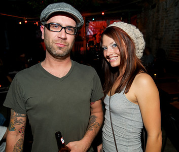 Josh Geiger and Tracy Blom of N.KY at Arnold's for MPMF.10