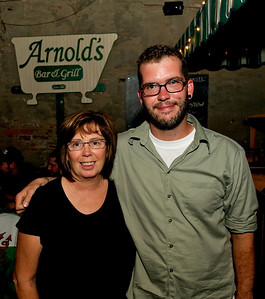Rhonda Androsky and Chris Breeden at Arnold's for MPMF.10