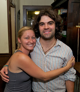 Sarabeth Anderson of Knoxville, TN and Aaron Madrigal of Glendale at Arnold's for MPMF.10