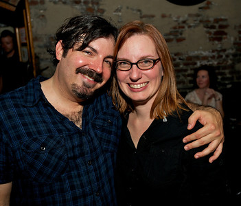 Chuck Davis and Annette Christianson of College Hill at Arnold's for MPMF.10