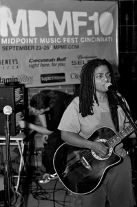Tracey Walker performs at Neon's for MPMF.10