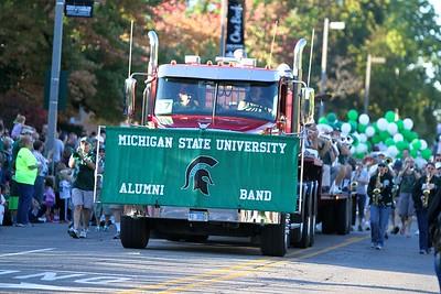 2014 MSU Alumni Marching Band Friday