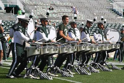 2014 MSU Combined Drumlines
