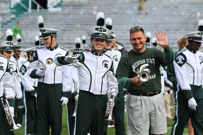 2015 MSU Alumni Band Post Game