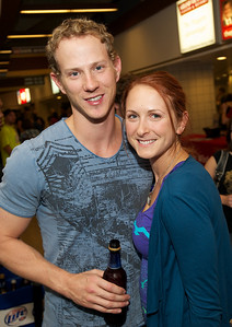 Nate and Alyssa Taylor of Cincinnati at US Bank Arena for MUSE