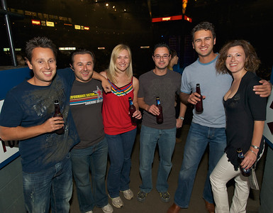 Alex, Jean, Irene, David, Jack and Michelle of Cincinnati at US Bank Arena for MUSE