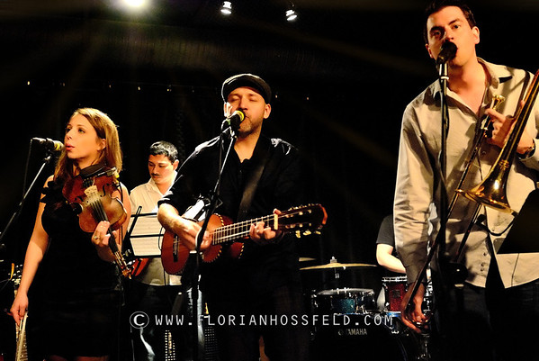 Locarno band @ the Cellar Jazz Club in Vancouver