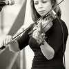 Kalissa Hernandez at violin - Locarno music