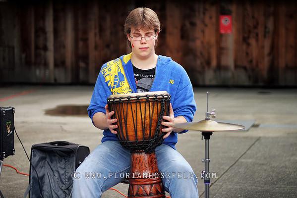 Heavy Jack performing @ Granville Island Vancouver