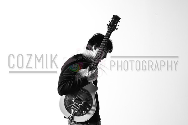 Studio Shoot with DC GuitARTIST John Lee Feb. 2012