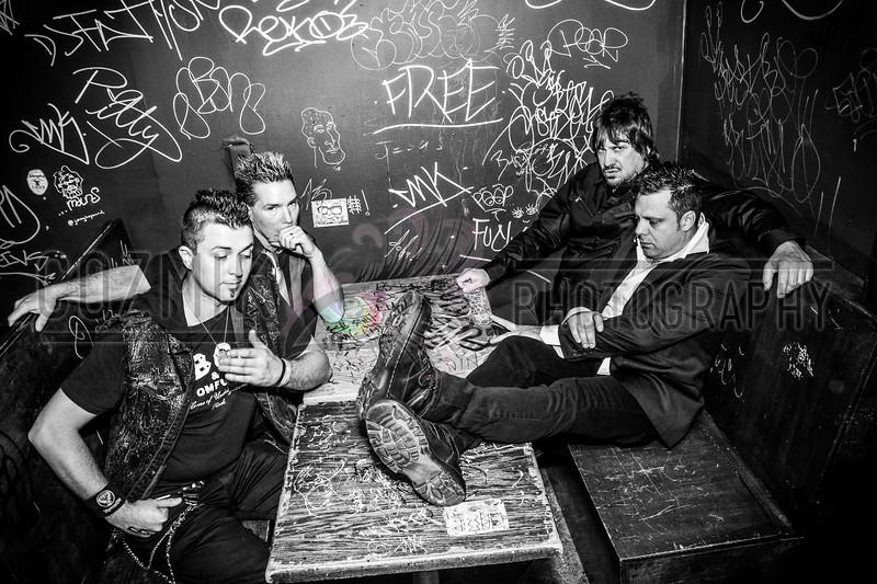 Bombenkinder, Velvet Lounge, DC - 10-2013 Promo Shoot