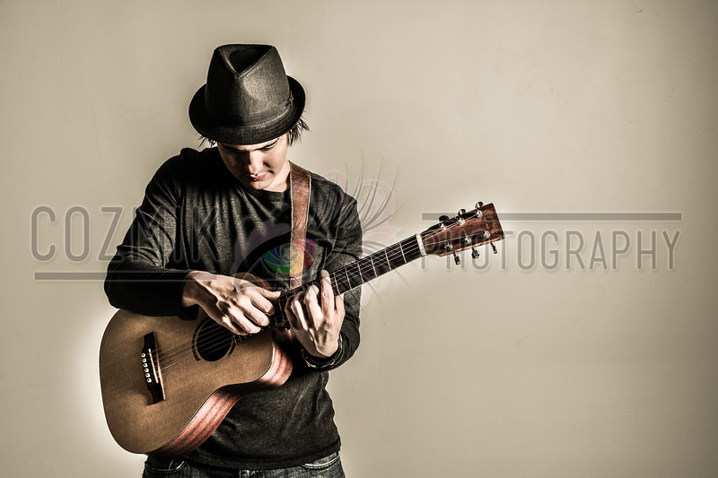 Studio Shoot with DC GuitARTIST John Lee<br /> Feb. 2012
