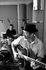 LaRue Boogaloo studio album shoot @ Asparagus Studios, Silver Spring MD, Oct. 2010<br /> Dan Hovey & Nick Ruggieri