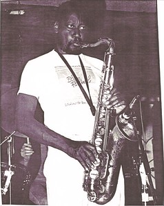 Kenny Baker - about 1987 at JJ's Blues Cafe in Mt. View, CA...