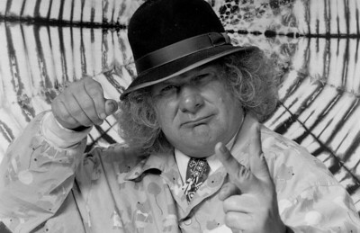 Wavy Gravy - 1988  at The Fillmore in San Francisco. Same night as rest of pics on this page.
