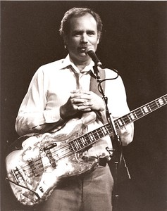 Peter Albin with Big Brother & the Holding Company - about 1987 at The Fillmore in San Francisco, CA.