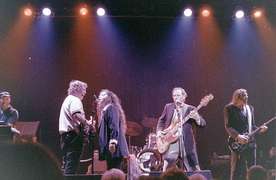 Merl Saunders, Barry Melton,Michelle Bastian, Peter Albin, John Cipollina The Dinosaurs at the Fillmore in San Francisco - 1988.