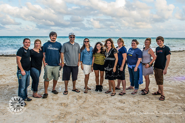 Mayan Holidaze Staff Photos - 12/19/13 - Now Sapphire Resport & Spa - Puerto Morelos, Mexico.  ©Josh Timmermans 2013