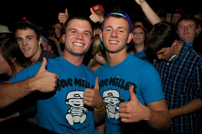 Kyle Powell and Cory Evans from Springfield, OH at Bogart's Friday for Mac Miller