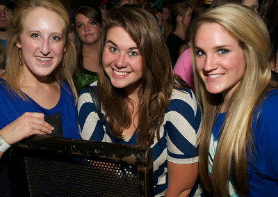 Katy, Hannah and Katy from Dayton at Bogart's Friday for Mac Miller