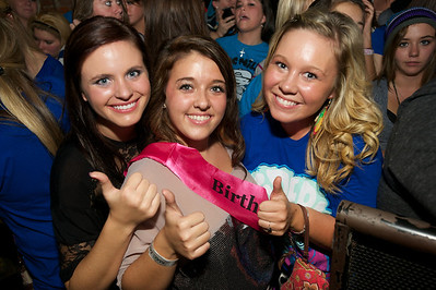 Alex Miller, London Baker and Sammie Hutcheson from Zanesville, OH at Bogart's Friday for Mac Miller