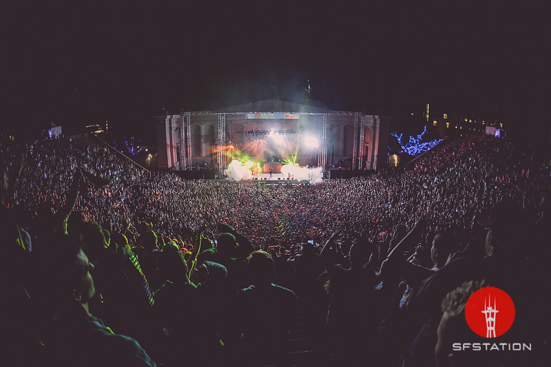 Mad Decent Block Party 2015, Sep 11, 2015 at Greek Theater