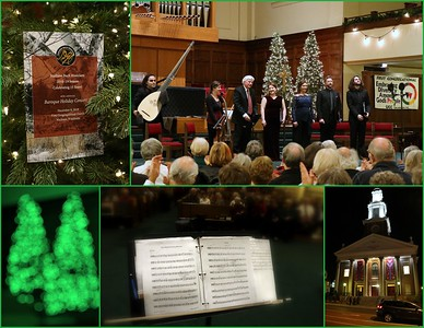 Select images of the December 8th performance at First Congregational UCC, Madison
