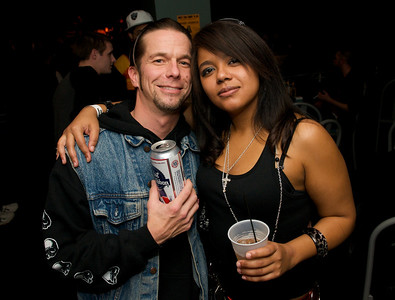 daveymac of Northern KY and Amie Alvarado of Clifton at the Madison Theater for Foxy Shazam's Christmas Odditorium