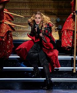 Madonna at MSG