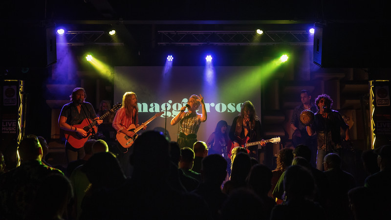 Sun King Brewery & MOKB Present Maggie Rose with Them Vibes at the HI-FI in Indianapolis, Indiana on May 31, 2019.