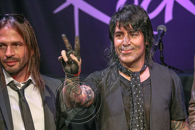 HOLLYWOOD, CA - SEPTEMBER 17:  Drummer Alex Gonzalez of Mana is inducted into Guitar Center's RockWalk at Guitar Center on September 17, 2012 in Hollywood, California.  (Photo by Chelsea Lauren/WireImage)