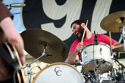 Tim Very of Manchester Orchestra performs on December 3, 2011 during 97X Next Big Thing at 1-800-ASK-GARY Amphitheatre in Tampa, Florida