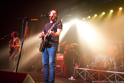 "Robert McDowell and Andy Hull of Manchester Orchestra perform in support of ""Simple Math"" on May 24, 2011 at The Ritz Ybor in Tampa, Florida"
