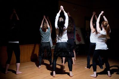 "Agnieszka Laska Dancers rehearse ""Rite of Spring"""