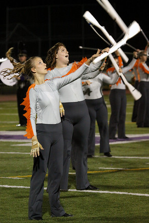 Band Senior Night pics and halftime show, Oct. 27, 2012 at JP Stevens game in Hugh Walsh Stadium