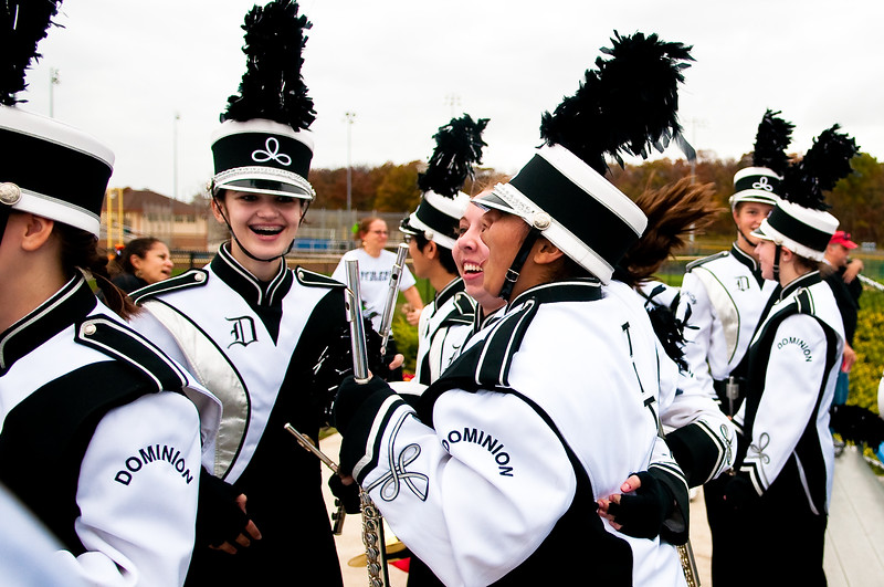 2009-10-31 Dominion Marching Band @ State Competition - 0320 (DSC_0481)