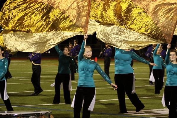 Falcon Band halftime show at Senior Night Football game vs JP Stevens, November 4th, 2011, Photos by R. DeBoer